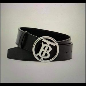 Authentic Burberry monogram motif belt